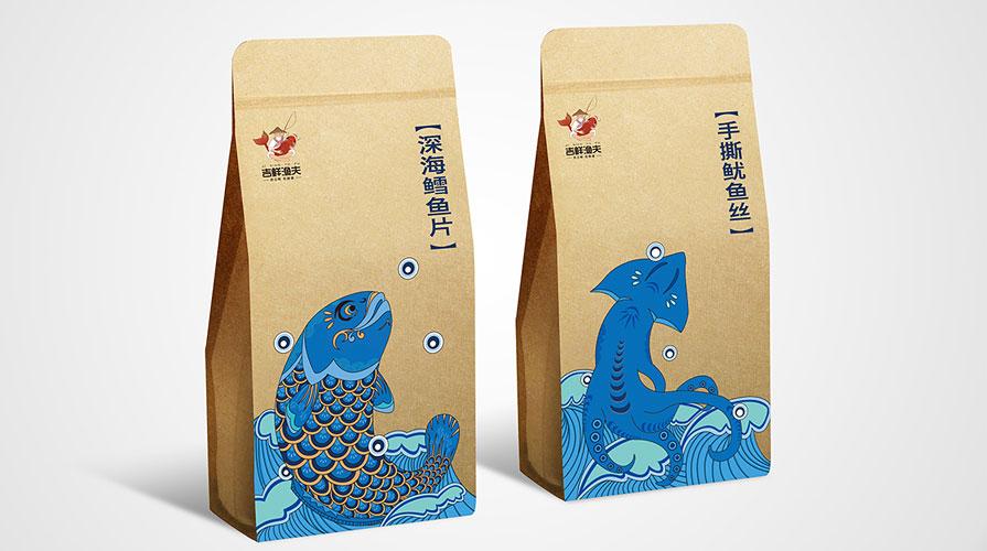 吉鲜渔夫包装设计